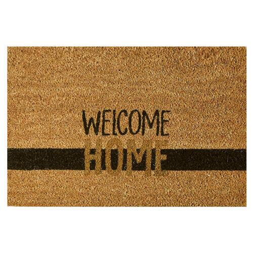 Kokosmåtte Coco Gold Welcome Home - 40 x 60 cm.