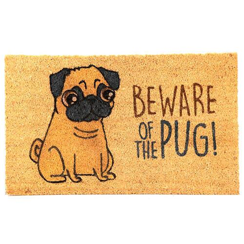 Kokosmåtte - Beware of the Pug
