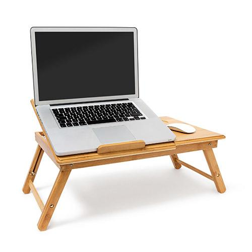 Laptop Bord Bambus Justerbart Ideshoppencom